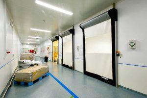 Brama szybkobieżna D-313 Cleanroom