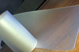 Folia PVC mleczna