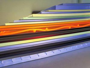 Folia PVC kolorowa